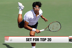Chung Hyeon set to enter top-20 of ATP world rankings