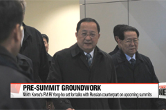North Korea's FM Ri Yong-ho set for talks with Russian counterpart on upcoming summits
