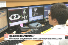 Smoking less cuts down risk