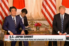Trump-Abe discuss North Korea, trade and other issues