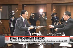 Officials from two Koreas to hold talks on formality of summit