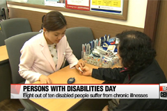 Living conditions of disabled people highlighted on National Day of Persons with Disabilities