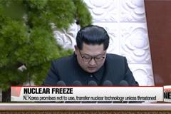 N. Korea's 'nuclear freeze' pledge seen as sign of sincerity