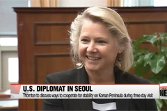 Senior U.S. diplomat on North Korea to discuss South Korea-US ties and stability in Korean peninsula with South Korea's senior officials