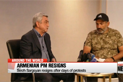 Armenian PM resigns after days of protests