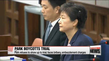 Formal President Park's faces another trial on bribery, this time on embezzlement charges