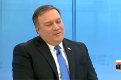 Senate committee narrowly approves Pompeo to become top U.S. diplomat