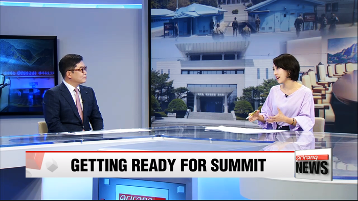 Summit venue renovated & two Koreas hold joint rehearsal today for Friday's summit