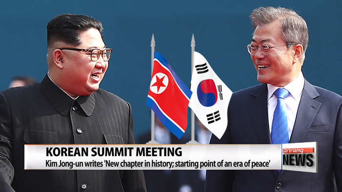 Leaders of two Koreas express hope for candid, fruitful talks