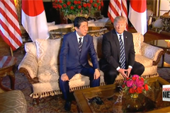 Trump, Abe agree N. Korea must act on denuclearization pledge