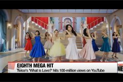 K-pop girl group Twice's 'What is Love?' hits 100-million views on Youtube