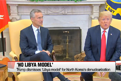Trump dismisses 'Libya model' for North Korea's denuclearization