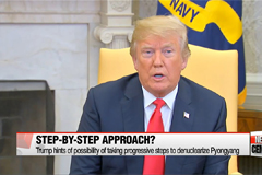 Expert's view on 'Trump model' for N. Korea's denuclearization