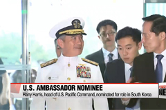 Harry Harris, head of U.S. Pacific Command, nominated for U.S. ambassador to South Korea