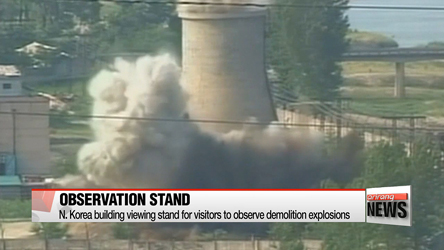 Dismantling of Punggye-ri nuclear test site well underway