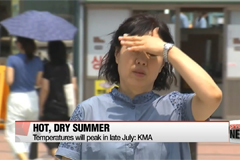 This year's summer temperature likely to be similar or higher than average