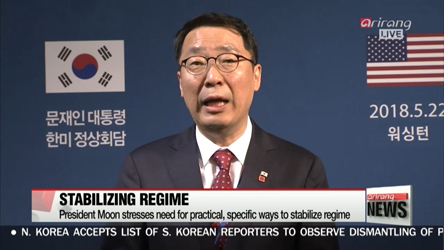 North Korean regime will be protected and rewarded if it chooses CVID:...