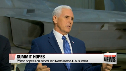 U.S. will not make concessions to N. Korea before verifiable, irreversible denuclearization: Pence