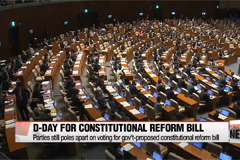 Parties still poles apart on voting for gov't-proposed constitutional reform bill