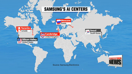0524   Samsung aims to run 5 international AI centers