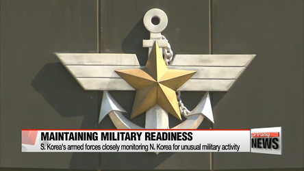 S. Korea's armed forces maintain military readiness