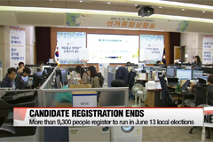 More than 9,300 people register to run in June 13 local elections