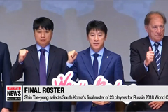 23 S. Korean players depart to Austria for pre-World Cup camp