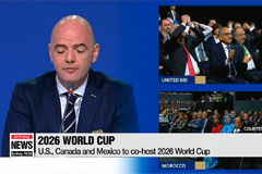 U.S., Canada and Mexio to co-host 2026 World Cup