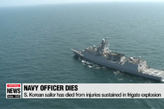 S. Korean sailor has died from injuries sustained in frigate explosion
