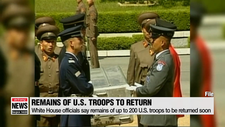 N. Korea expected to return remains of up to 200 U.S. service members ...
