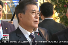 President Moon's visit to Russia tied to inter-Korean peace efforts