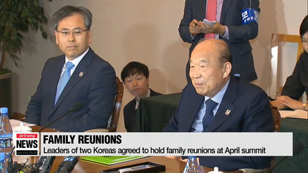 Two Koreas to hold reunions of war-torn families for 7 days starting A...