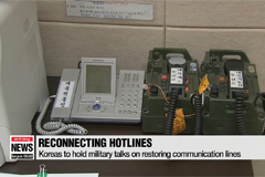 Koreas to hold military talks on restoring communication lines