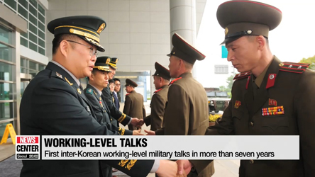 Two Koreas agree to restore military communication lines