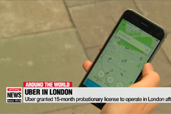 Uber granted 15-month probationary license to operate in London after ban