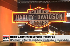 EU's retaliatory tariffs on U.S. goods forces Harley-Davidson to move production overseas