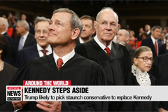 U.S. Supreme Court Justice Kennedy to retire