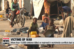 More than 10,000 children killed or maimed in armed conflicts: UN
