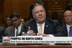 U.S. top diplomats comment on on-going denuclearization