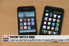 Samsung and Apple settle smartphone patent dispute