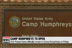 U.S. Forces Korea officially moves to Camp Humphreys on Friday