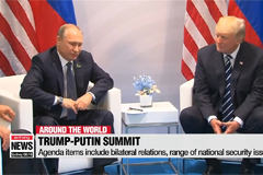 Trump-Putin summit to take place in Helsinki on July 16