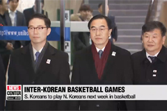 S. Koreans to play N. Koreans next week in basketball