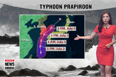 Typhoon Prapiroon to affect southern coastal regions