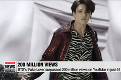 BTS's 'Fake Love' music video hits 200 million Youtube views in 44 days