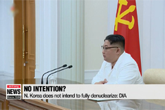 U.S. intelligence officials believe N. Korea has no intention of denuclearizing