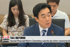 Special Financial Reform Committee proposes tax reform plan to the government