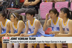 Koreas promote peace and prosperity at friendly basketball game