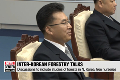 Two Koreas discuss forestation cooperation in Panmunjom