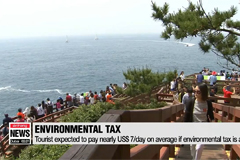 Jeju Island considers environmental tax on tourists to cope with increased clean-up costs
